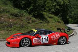 Luca Gaetani, Ferrari 458 Challenge EVO