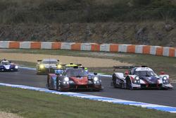 #24 Oak Racing Ligier JSP3 - Nissan: Jacques Nicolet, Pierre Nicolet; #2 United Autosports Ligier JSP3 - Nissan: Alex Brundle, Mike Guasch, Christian England