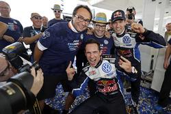 Sébastien Ogier, Julien Ingrassia, Volkswagen Polo WRC, Volkswagen Motorsport with Sven Smeets, Volk