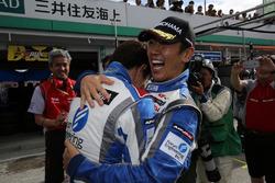 Winners #24 Kondo Racing Nissan GT-R Nismo GT3: Daiki Sasaki, Masataka Yanagida
