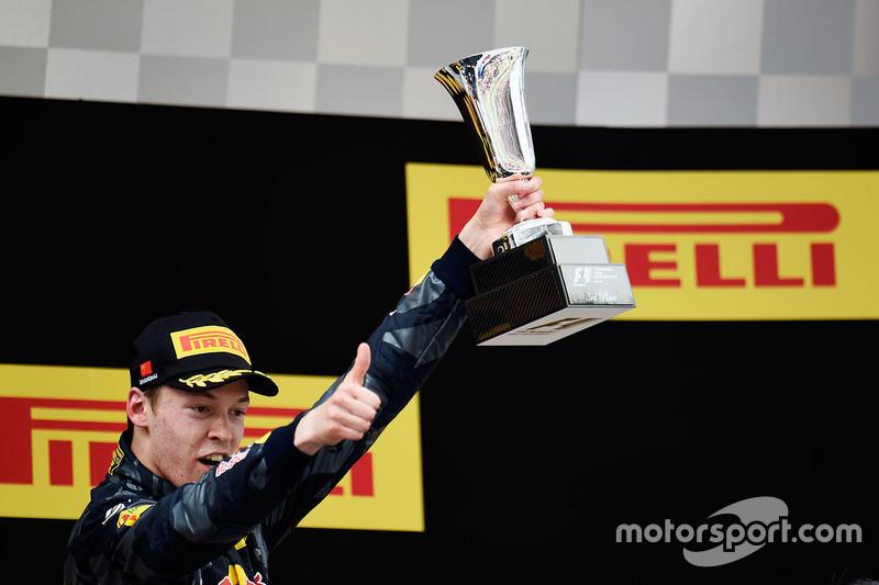 Данііл Квят, Red Bull Racing