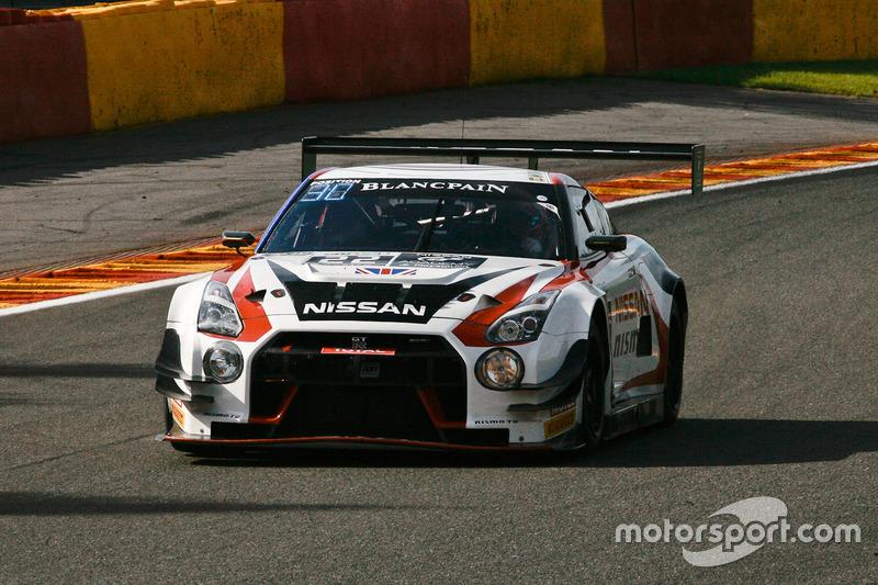 #22 Nissan GT Academy Team RJN Nissan GT-R Nismo GT3: Riccardo Sanchez, Romain Sarazin, Sean Walkins