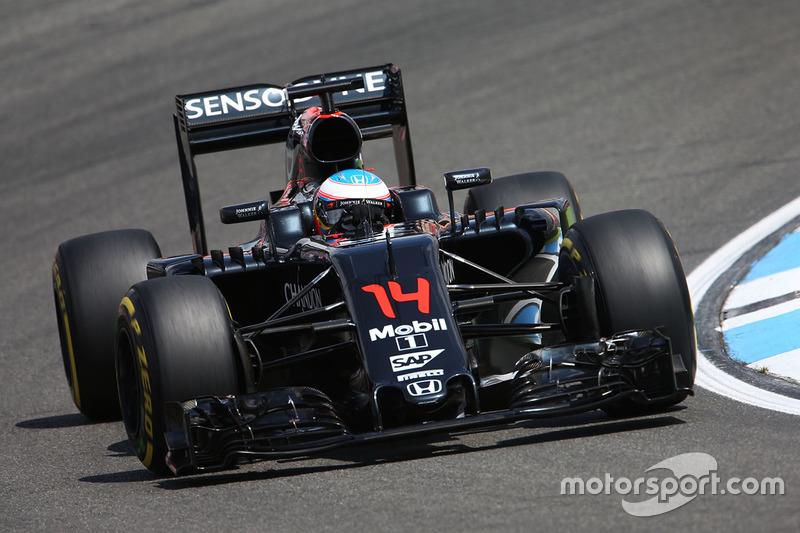 13. Fernando Alonso, McLaren MP4-31