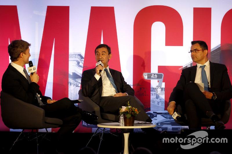 Прес-конференція ACO: президент ACO П'єрр Фійон і генеральний директор ACO Фредерік Ленар