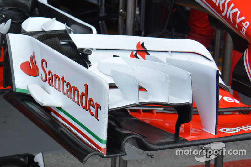 Detalle del Ferrari SF16-H