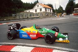 Thierry Boutsen, Benetton Ford
