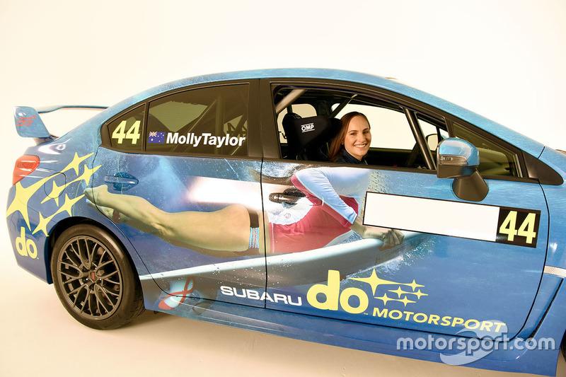 Чемпіонат Австралії за ралі: Презентація Subaru Моллі Тейлор