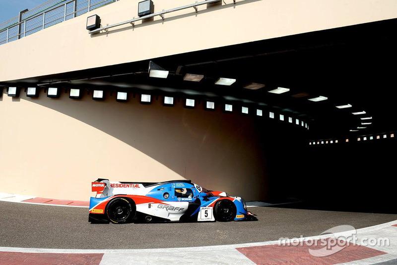 #5 Graff Racing Ligier JS P3: James Winslow, Gregory Taylor, Neale Muston