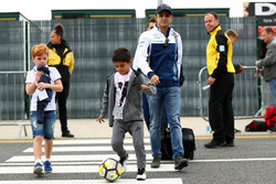 Felipe Massa, Williams, son Felipinho Massa