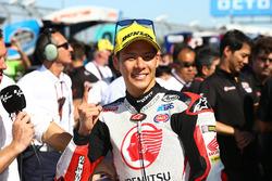 Ganador de la carrera Takaaki Nakagami, Idemitsu Honda Team Asia