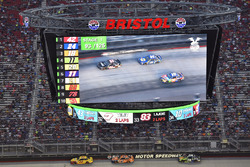 Joey Logano, Team Penske Ford, Brad Keselowski, Team Penske Ford, Martin Truex Jr., Furniture Row Racing Toyota