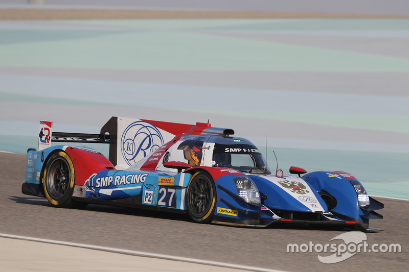 8. LMP2: #27 SMP Racing, BR01 - Nissan: Maurizio Mediani, Nicolas Minassian, Mikhail Aleshin