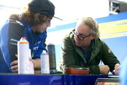 Remy Gardner, Tech 3 Racing, mit Vater Wayne Gardner