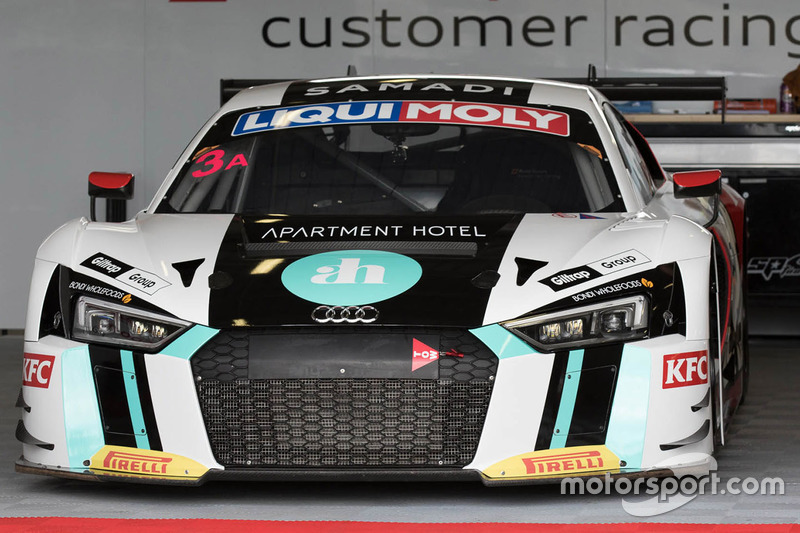 #3 Team ASR Pty Ltd Audi R8 LMS
