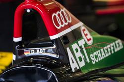 L'arceau de la voiture de Daniel Abt, Audi Sport ABT Schaeffler