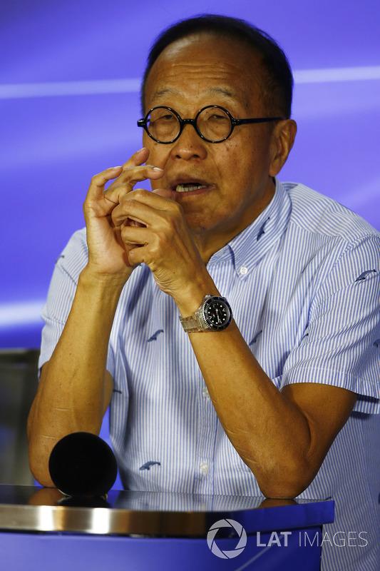 Pressekonferenz: Ong Beng Seng