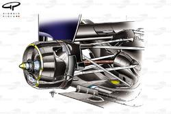 Red Bull RB7 rear brakes
