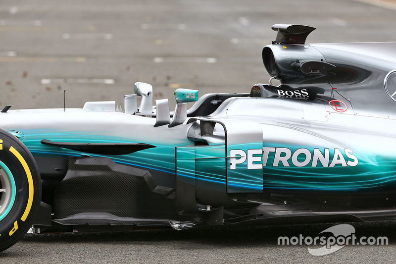 Деталь Mercedes AMG F1 W08