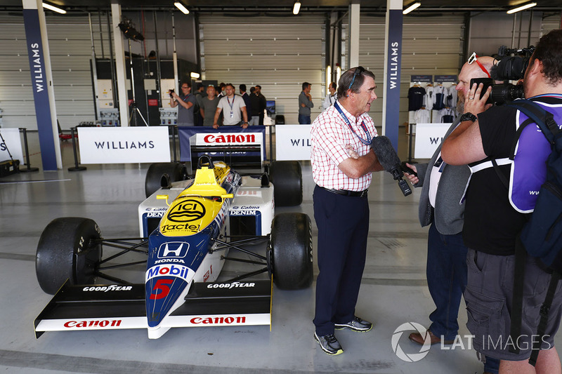 Nigel Mansell ve Williams FW11 Honda
