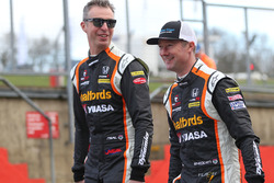 Gordon Shedden, Matt Neal, Halfords Yuasa Racing, Honda Civic Type R