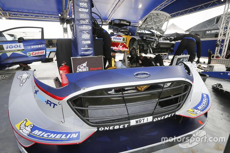 Frontpartie: M-Sport, Ford Fiesta WRC