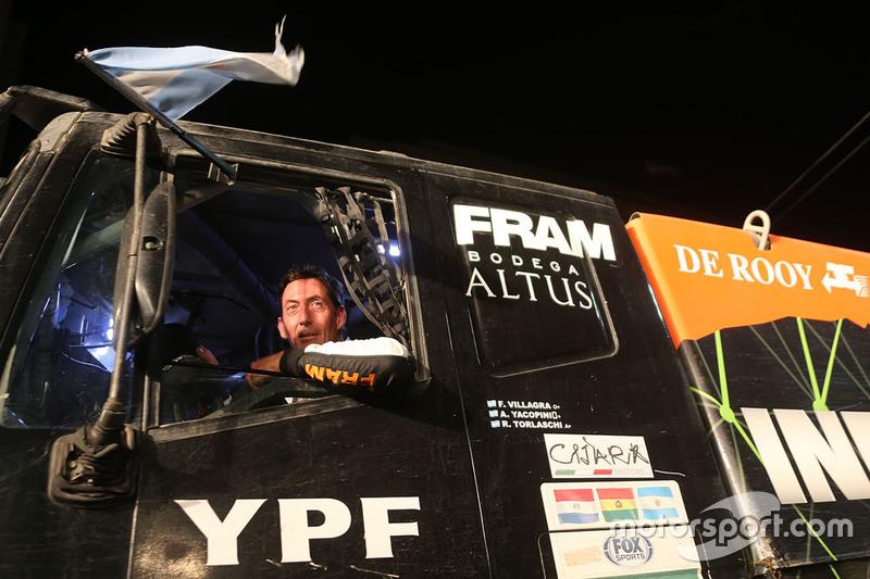 Federico Villagra, Team De Rooy Iveco