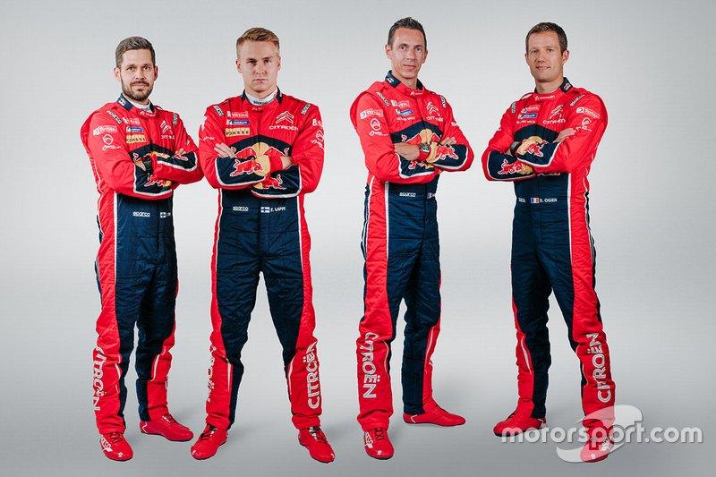 Citroën Racing: Janne Ferm, Esapekka Lappi, Julien Ingrassia, Sebastien Ogier