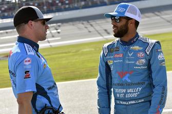 Darrell Wallace Jr., Richard Petty Motorsports, Chevrolet Camaro Medallion Bank / Petty's Garage and Drew Blickensderfer