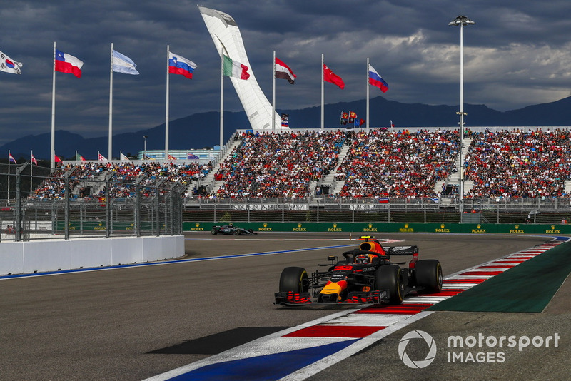 GP Rusia: Max Verstappen