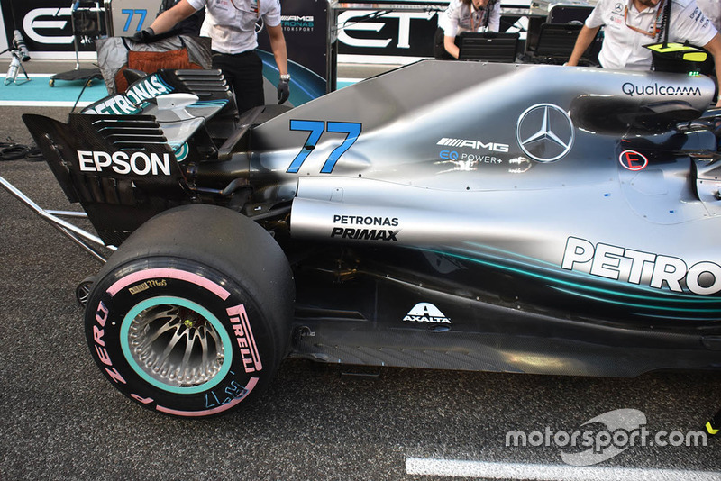Car of Valtteri Bottas, Mercedes AMG F1