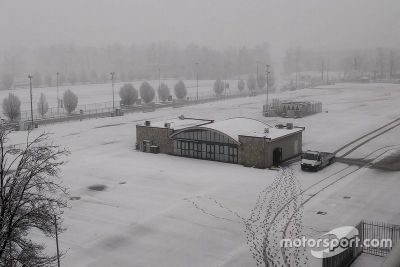Snow at Monza