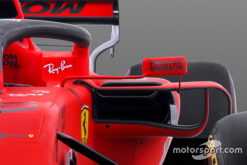 Ferrari SF90 detail