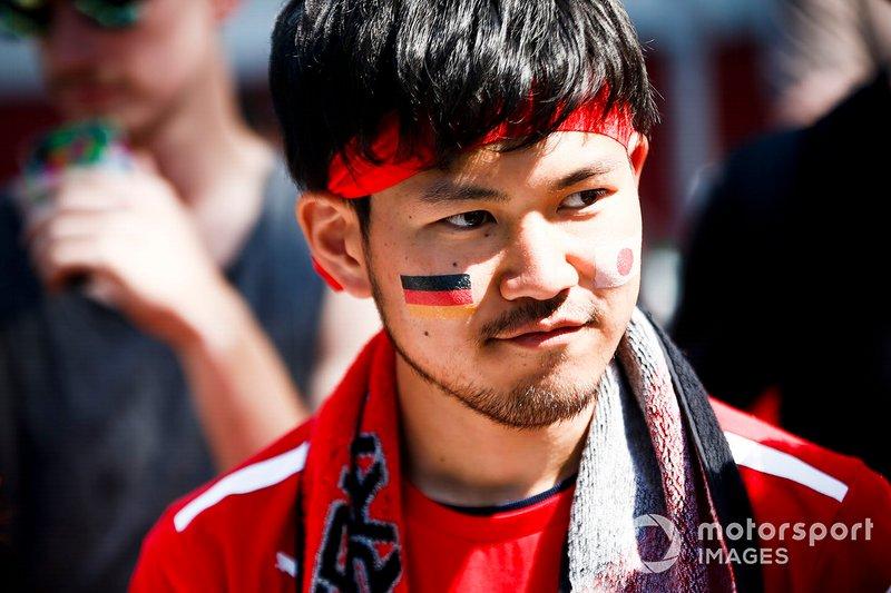 A fan of Sebastian Vettel, Ferrari