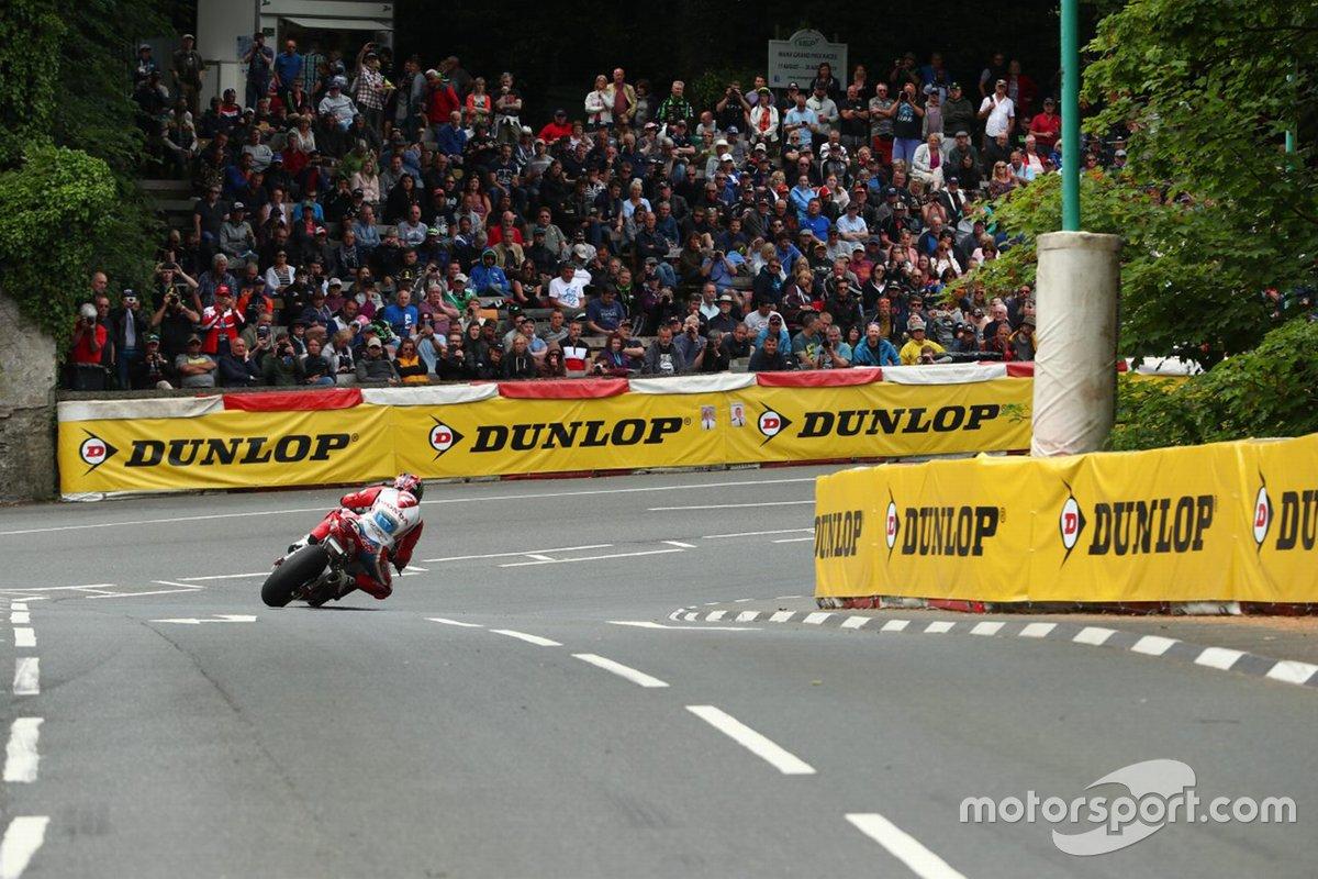 Track action, Isle of Man TT