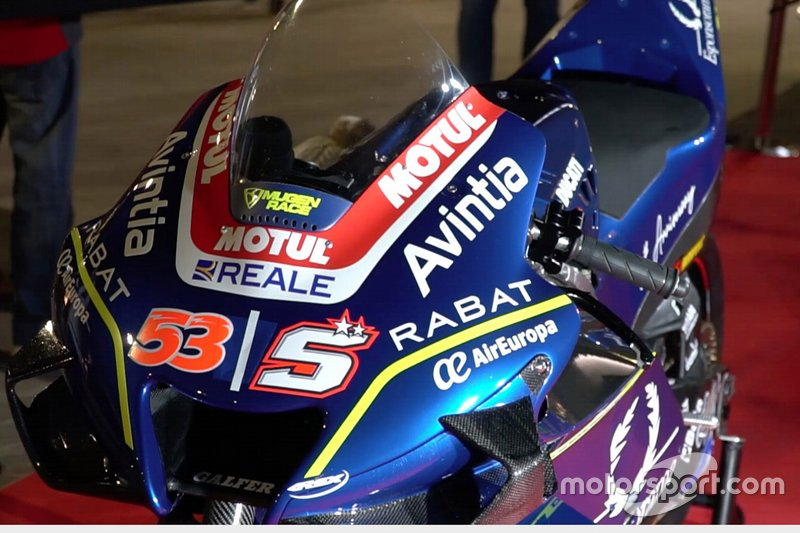 Detail of the Ducati Desmosedici GP19, Avintia Racing