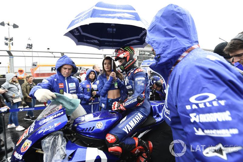 Maverick Viñales, Yamaha Factory Racing, British MotoGP race 2018