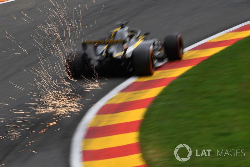 18: Nico Hulkenberg, Renault Sport F1 Team R.S. 18, (sanción)