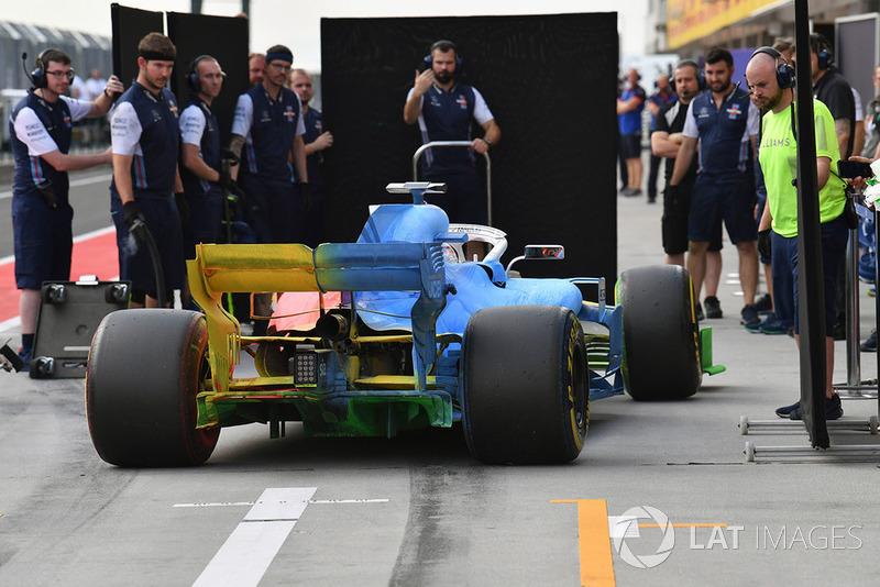 Роберт Кубіца, Williams FW41 із аерофарбою по всій машині