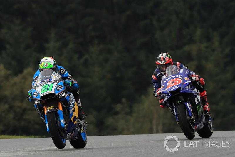 Franco Morbidelli, Estrella Galicia 0,0 Marc VDS, Maverick Viñales, Yamaha Factory Racing