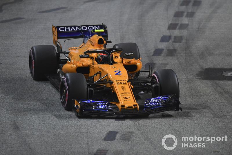 14 місце — Стоффель Вандорн, McLaren. Умовний бал — 7,05