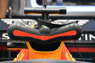 Red Bull Racing engine cooling technical detail