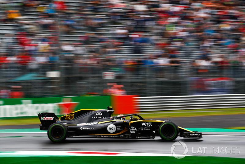 Carlos Sainz Jr., Renault Sport F1 Team RS 18