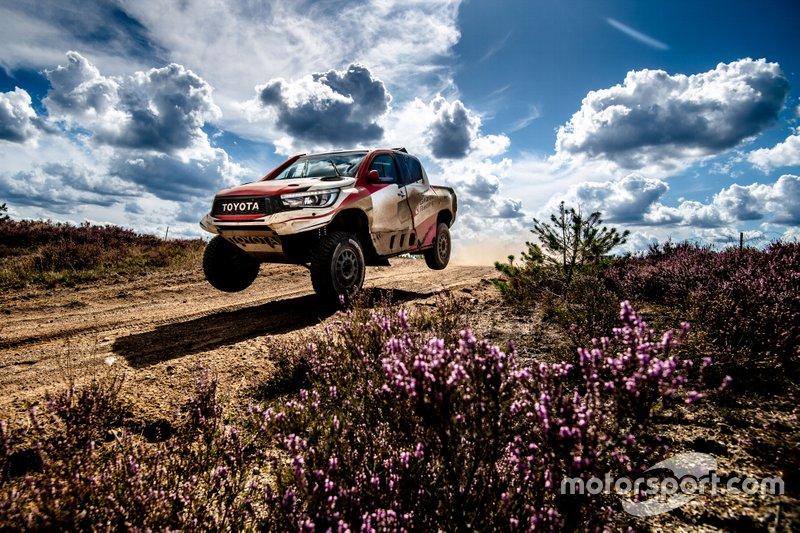 Test Alonso Toyota Poland