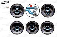 Opciones de diseño para el Fórmula 1 2016