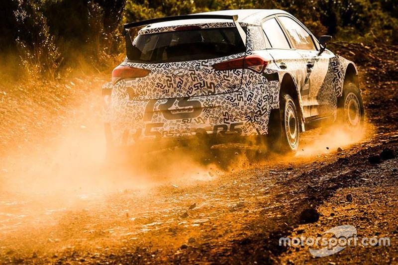 Kevin Abbring und Sebastian Marshall, Hyundai i20 R5 WRC, Hyundai Motorsport