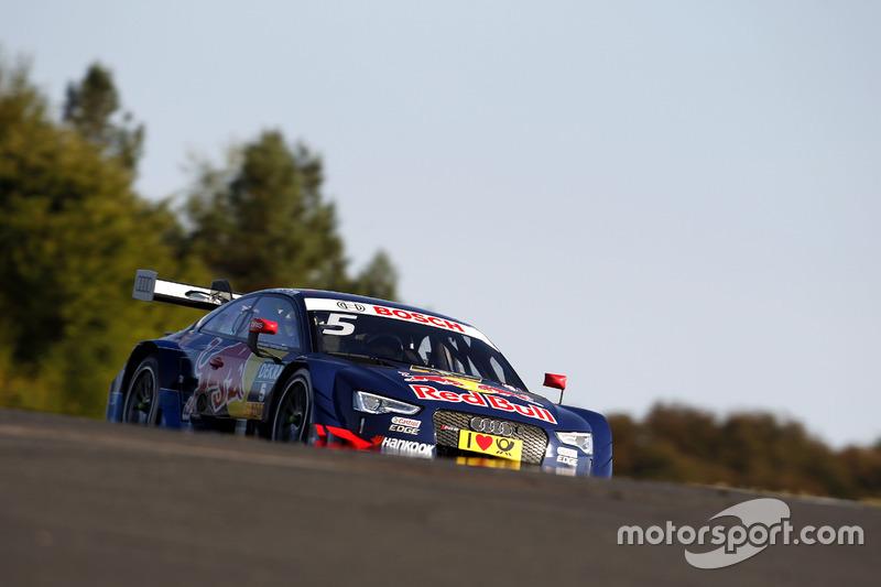 Ausfall: Mattias Ekström, Audi Sport Team Abt Sportsline, Audi A5 DTM