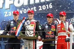 Podium: Race winner Joel Eriksson, Motopark Dallara F316 – Volkswagen; second place Niko Kari, Motopark Dallara F316 – Volkswagen; Sergio Sette Camara, Motopark Dallara F314 – Volkswagen; Fastest lap award for Guanyu Zhou, Motopark Dallara F316 – Volkswagen