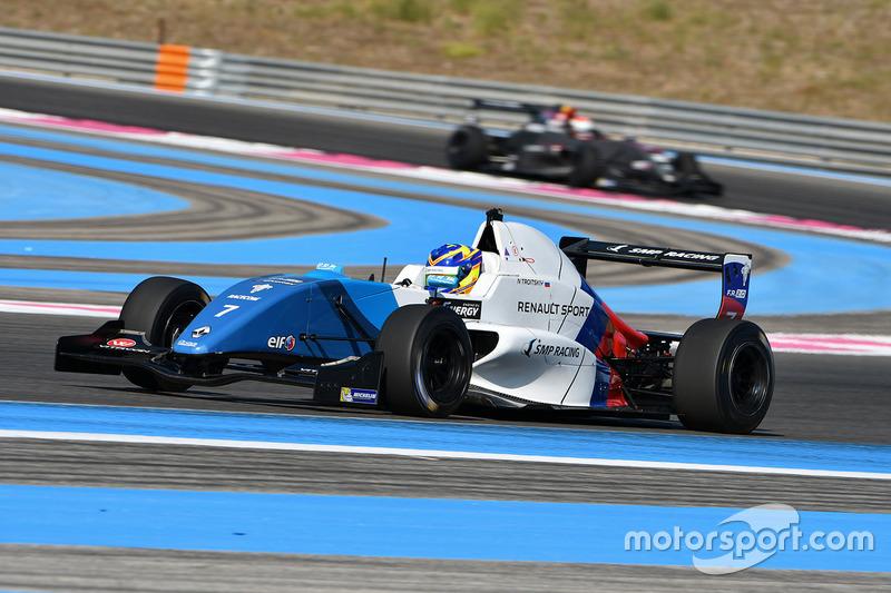 Nikita Troitskiy, Fortec Motorsports
