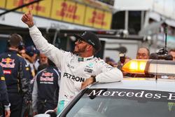 Обладатель поула - Льюис Хэмилтон, Mercedes AMG F1 Team