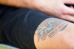 Daniel Ricciardo, Red Bull Racing met tattoo